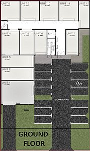 Ground Floor Map